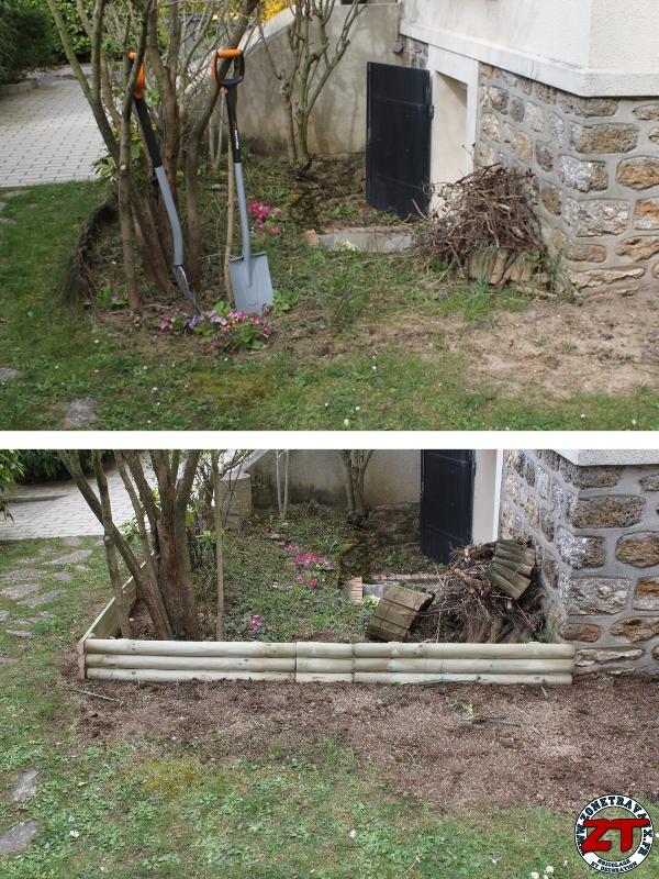 deco bordure jardin stunning pose bordure jardin galerie avec bordure bois pour jardin photos. Black Bedroom Furniture Sets. Home Design Ideas