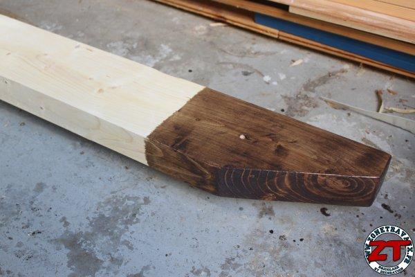 Pergola dossier 4 traitement et lasure de la pergola for Lasure bois interieur couleur