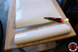 Installer tableau blanc Velleda (4)