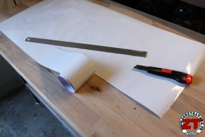 Installer tableau blanc Velleda (8)