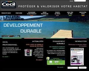 Site Internet CECIL PRO