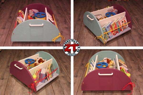 Cr ation diy fabriquer un meuble de rangement pour enfant - Meuble de rangement pour enfants ...