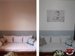 Installer tableau sur mur (1)