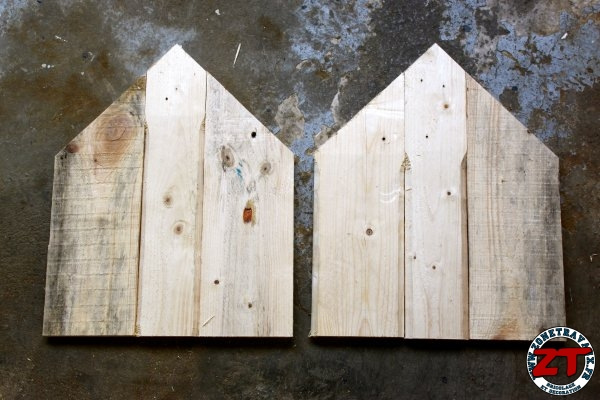 Cabane En Bois Pour Chat : Assembler les planches de bois solidement