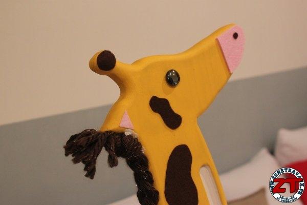 Création DIY : Fabriquer une toise Girafe pour enfant en bois