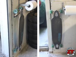 Support mural skate longboard (25)