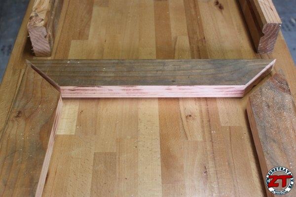 Cr ation fabriquer une table d 39 colier 1 2 - Fabriquer une table de picnic en bois ...