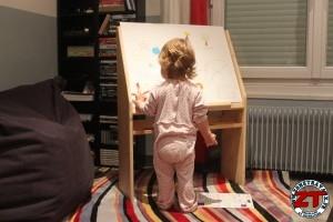 Chevalet de peinture enfant