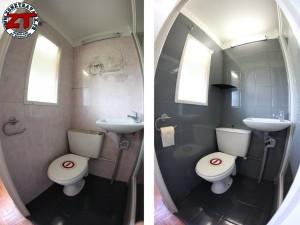 tuto r nover une salle d 39 eau avec r sinence color. Black Bedroom Furniture Sets. Home Design Ideas