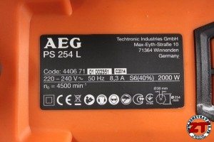 AEG Scie onglet radiale PS254L