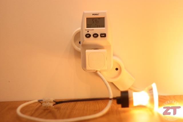 Test La Consommation Des Ampoules Led Zonetravaux