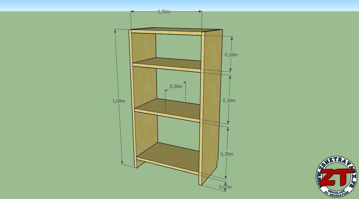 etag re biblioth que diy zonetravaux zonetravaux bricolage d coration outillage jardinage. Black Bedroom Furniture Sets. Home Design Ideas