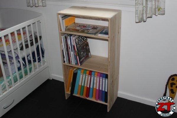 Etagere bibliotheque DIY