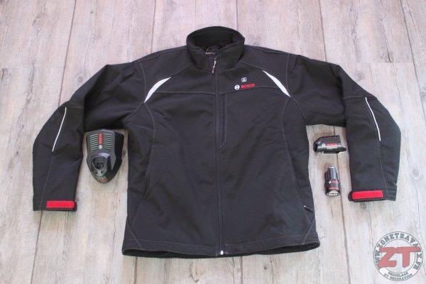 Batterie 2,0 Ah, 12//18 V, Noire, Taille XS, dans Carton Bosch Professional Veste Chauffante GHJ 12+18V Unisexe