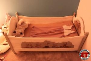 Restauration lit enfant & fabrication sommier