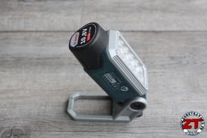 Test BOSCH Pro : Lampe sans fil GLI DECILED 10,8V