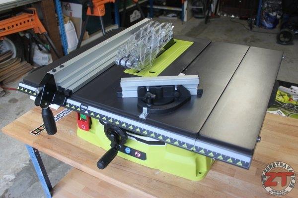 Test ryobi scie sur table pliable 1800w rts1800ef g - Fabriquer une scie circulaire sur table ...
