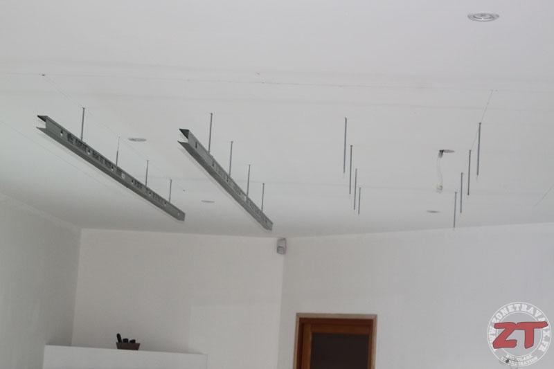 Faux Plafond Spot : Brico création d un faux plafond avec ruban led et spots