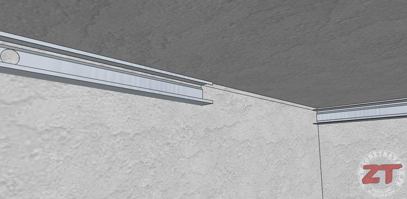 technique brico le faux plafond autoportant en d tails. Black Bedroom Furniture Sets. Home Design Ideas