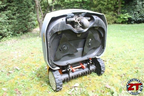 test robot de tonte cub cadet lawnkeeper 1800. Black Bedroom Furniture Sets. Home Design Ideas