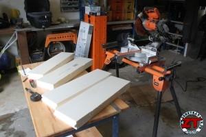 Fabrication mini skate étagère