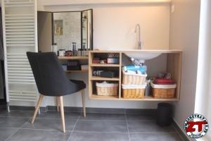 Tuto fabriquer un meuble vasque de salle de bain - Creer son meuble de salle de bain ...