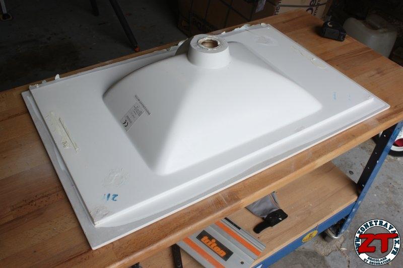 Fabriquer meuble vasque fabriquer un meuble sous vasque - Construire meuble de salle de bain ...