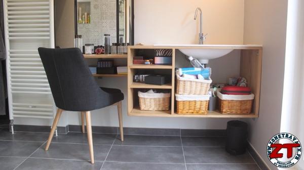 tuto fabriquer un meuble vasque de salle de bain. Black Bedroom Furniture Sets. Home Design Ideas