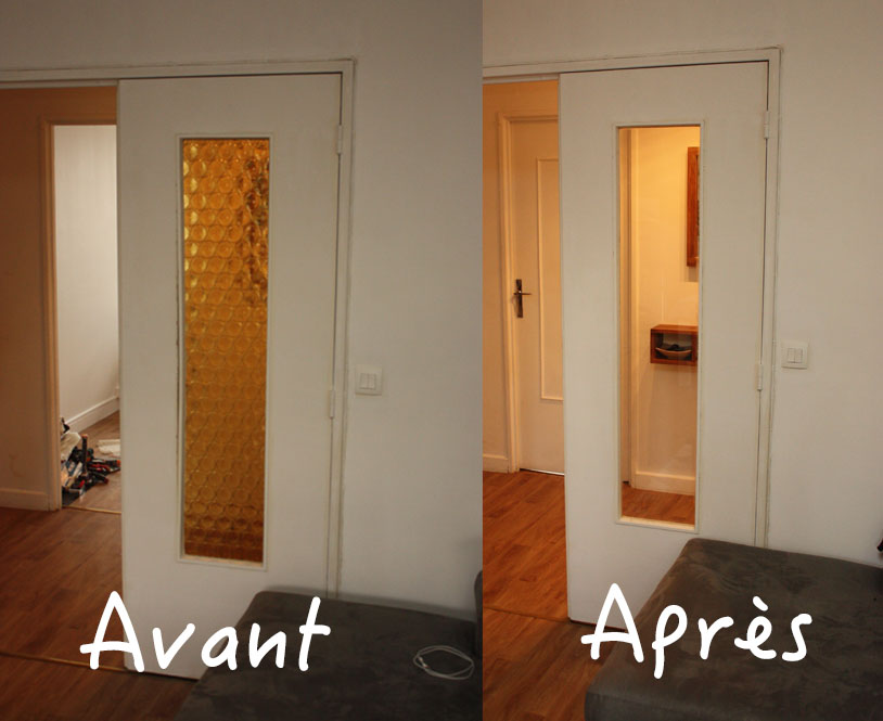 Verriere double vitrage affordable gallery of prix porte for Changer vitre fenetre pvc