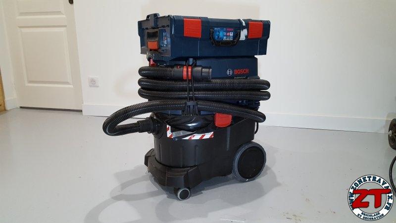 Test bosch aspirateur de chantier gas 35 l afc professional - Aspirateur bosch pro silence ...