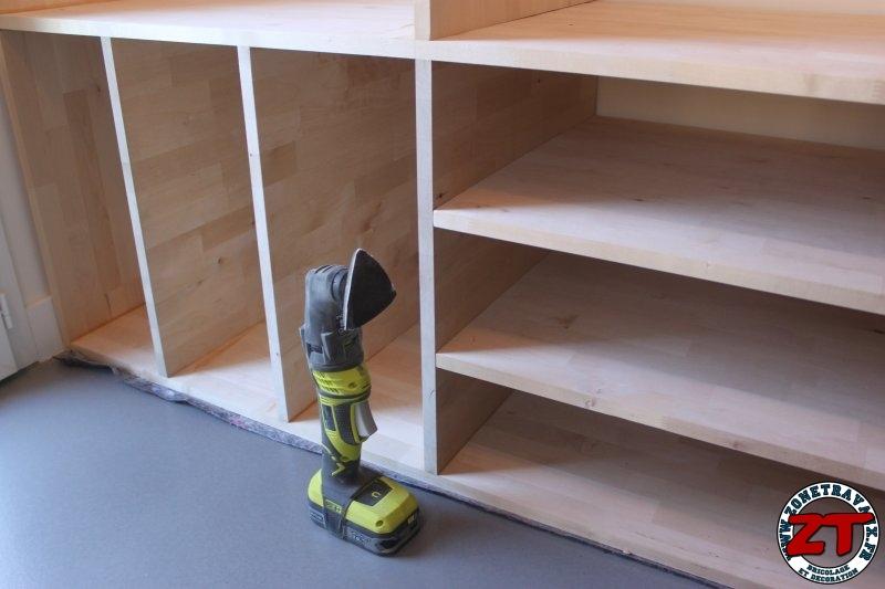 Realiser un meuble d'entrée en bois sur mesure