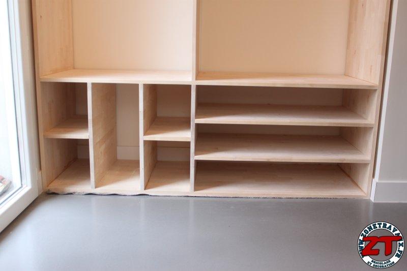 cr ation r alisation d 39 un meuble d 39 entr e sur mesure en. Black Bedroom Furniture Sets. Home Design Ideas