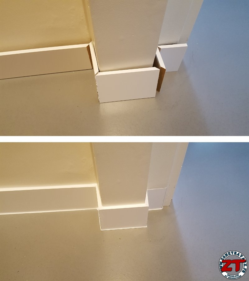 Tutoriel En Photos Comment Poser Des Plinthes Sur Un Mur
