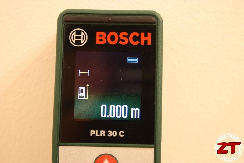 test du t l m tre laser bosch plr30c par zonetravaux. Black Bedroom Furniture Sets. Home Design Ideas