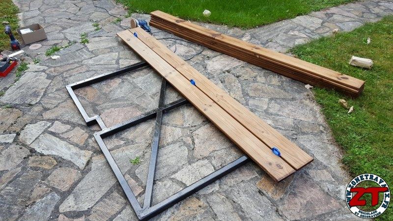 Tutoriel : Fabriquer et restaurer un portillon en bois et acier