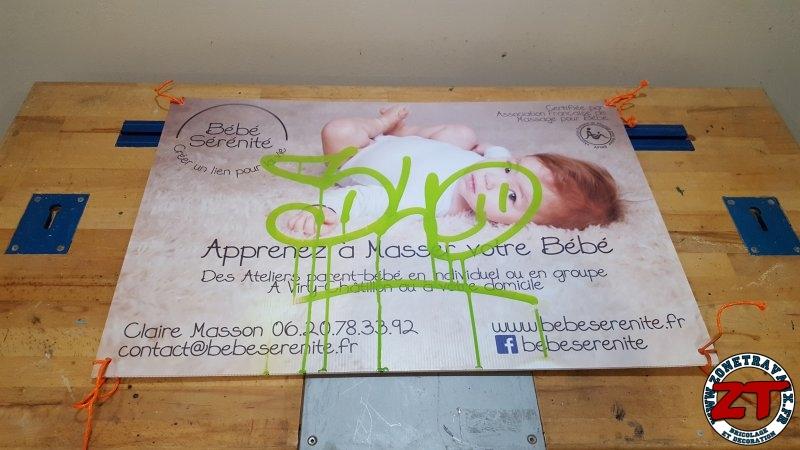 Fabriquer cadre pancarte photo 2 zonetravaux for Jardinage outillage bricolage