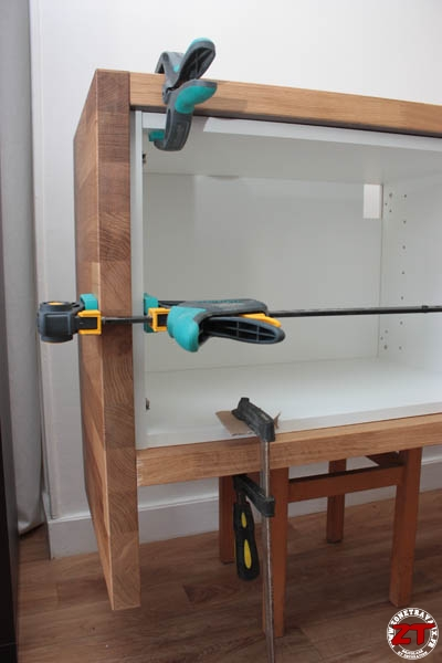 Ikea hack meuble tv 50 zonetravaux bricolage for Meuble tv 50