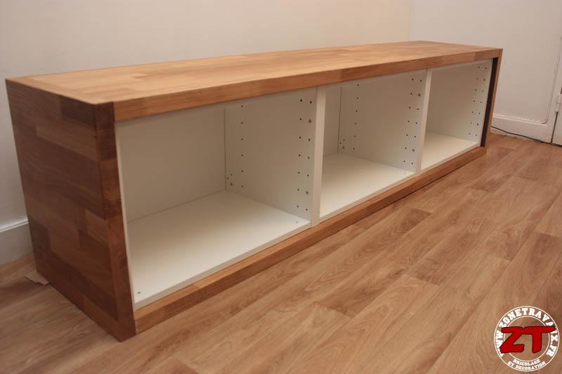 ikea hack meuble tv 73 zonetravaux bricolage d coration outillage jardinage. Black Bedroom Furniture Sets. Home Design Ideas