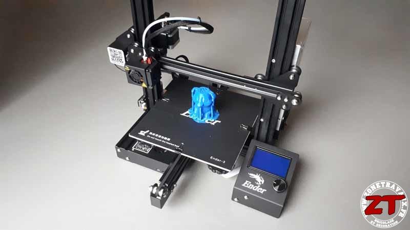 Creality Ender 3 impression 3D