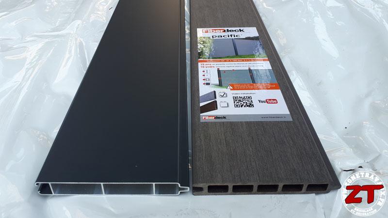 Tutoriel] Installer une Palissade Fiberdeck Pacific pour votre clotûre